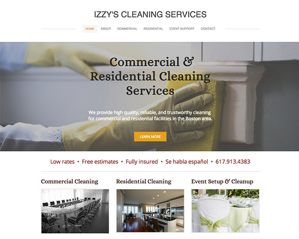 Izzy's Cleaning Services